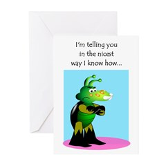Nicest Way 04 Greeting Cards (Pk of 10)