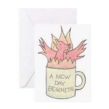 coffee_phoenix Greeting Card