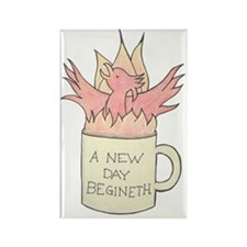 coffee_phoenix Rectangle Magnet