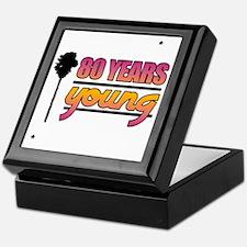 80 Years Young (Birthday) Keepsake Box