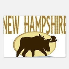 NHMoose Postcards (Package of 8)