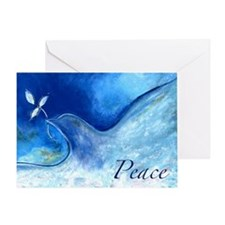 Peace,5x7 Greeting Card