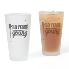 80 Years Young (Birthday) Drinking Glass