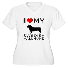 I love My Swedish Vallhund T-Shirt