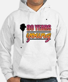 90 Years Young (Birthday) Hoodie
