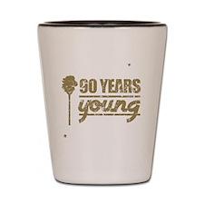 90 Years Young (Birthday) Shot Glass
