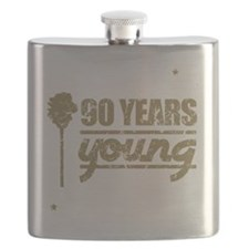 90 Years Young (Birthday) Flask