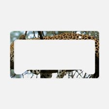 Leo Tree S print License Plate Holder