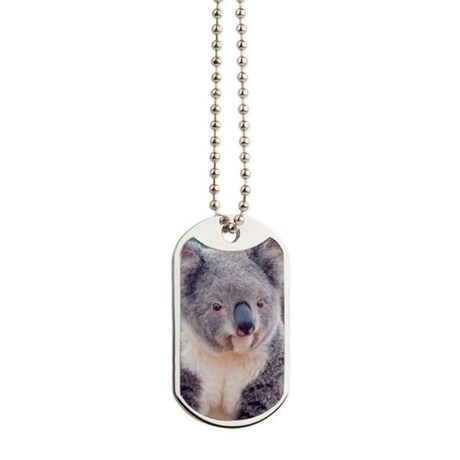 Koala Smile journal Dog Tags