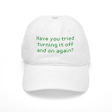 it-crowd-light-shirt Baseball Cap