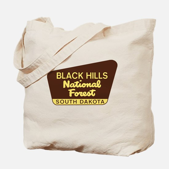 Funny Black hills Tote Bag