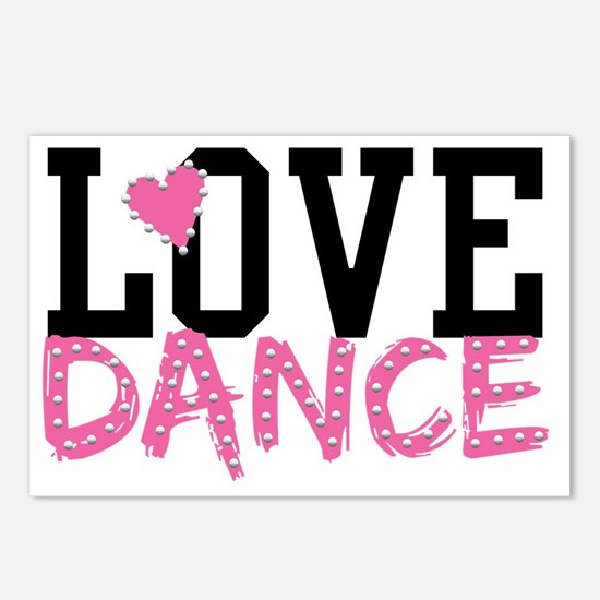 LOVE DANCE Postcards (Package of 8)