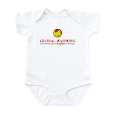 Unique Global weather change Infant Bodysuit