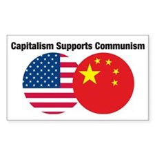 CapitalismSupportsComm1 Decal