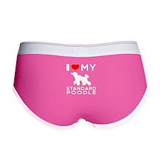 I love My Standard Poodle Women's Boy Brief