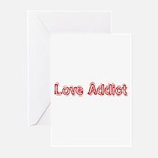 """Love Addict"" Greeting Cards (Pk of 10)"