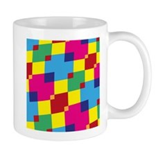 Retro Squares Mugs
