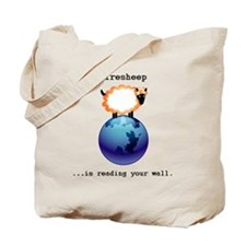 Firesheep is reading your wall.gif Tote Bag