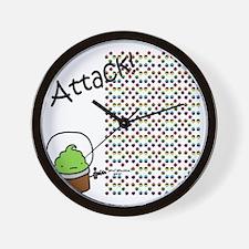 Snack_attack Wall Clock