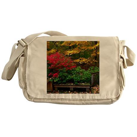 backyard color Messenger Bag