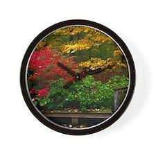 backyard color Wall Clock