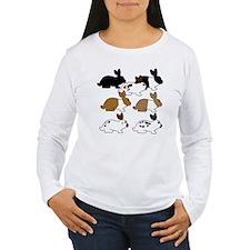 YogaBunnyTestSquare T-Shirt
