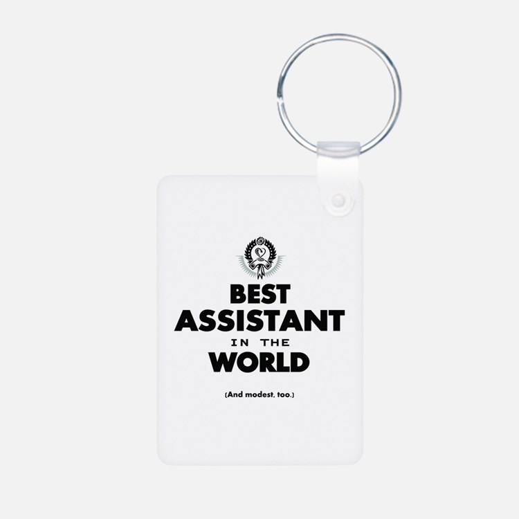 The Best in the World – Assistant Keychains