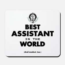 The Best in the World – Assistant Mousepad