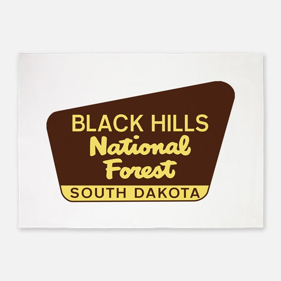 Black Hills National Forest South D 5'x7'Area Rug