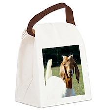 Goat(9) Canvas Lunch Bag