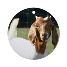 Goat(9) Round Ornament