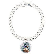 schnoodlechristmasrectan Charm Bracelet, One Charm