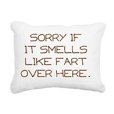 girl briefs Rectangular Canvas Pillow