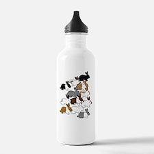 IPhone4SlideManyBunnie Water Bottle