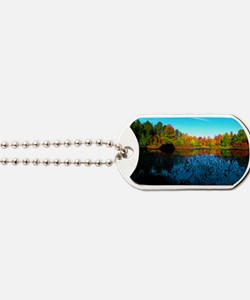 holden sunset Dog Tags