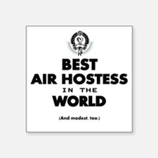 The Best in the World – Air Hostess Sticker