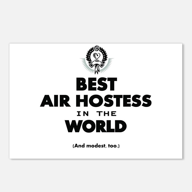 The Best in the World – Air Hostess Postcards (Pac