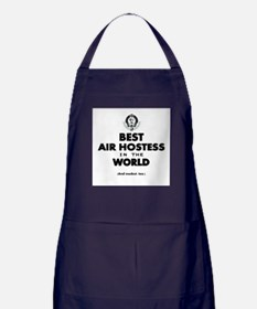 The Best in the World – Air Hostess Apron (dark)