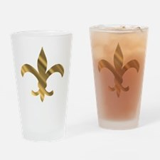 Dat fluer shiney Drinking Glass
