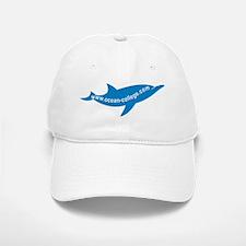 Ocean College Web Dolphin Baseball Baseball Cap