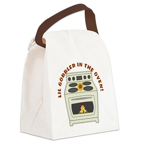 Lil Gobbler in the Oven Canvas Lunch Bag