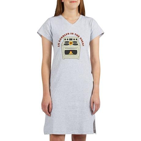 Lil Gobbler in the Oven Women's Nightshirt