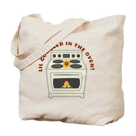 Lil Gobbler in the Oven Tote Bag