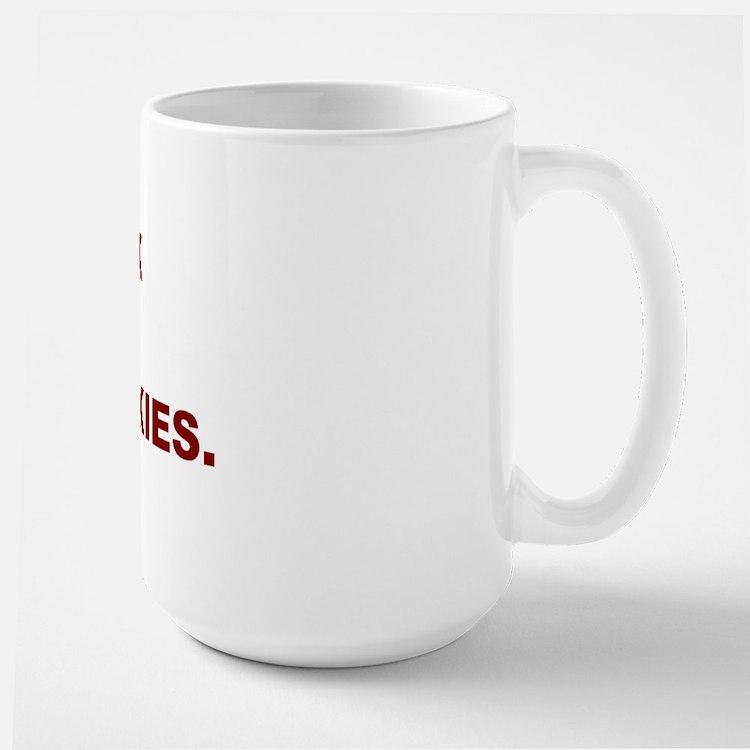 Fuckthehuskies Large Mug