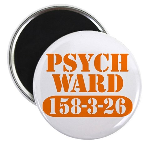 Psych Ward - Orange Magnet