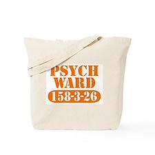 Psych Ward - Orange Tote Bag