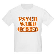 Psych Ward - Orange Kids T-Shirt