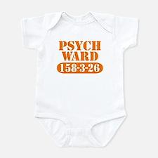 Psych Ward - Orange Infant Bodysuit