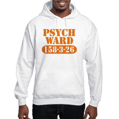 Psych Ward - Orange Hooded Sweatshirt