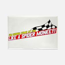 Spider Monkey Rectangle Magnet
